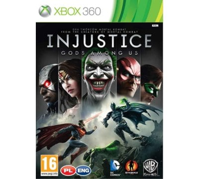 Gra Xbox 360 CENEGA Injustice: Gods Among Us
