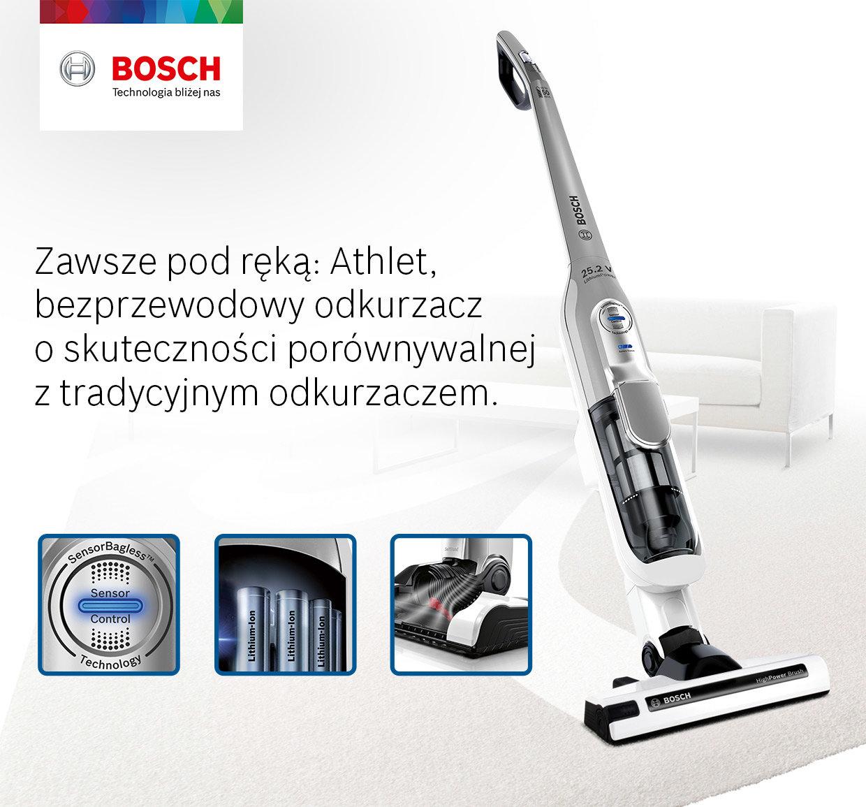 Odkurzacz BOSCH BBH 52550 opinie, cena MediaMarkt.pl