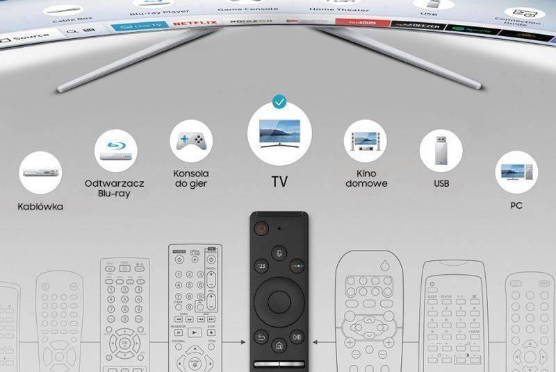 Samsung Jeden pilot do większości urządzeń. Smart Control