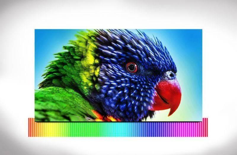 Samsung Lepszy obraz dzięki intensywnym kolorom. Wide Color Enhancer Plus