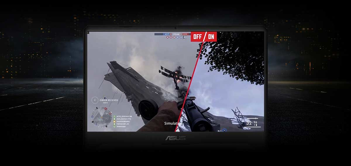 ASUS TUF GAMING FX705 – FREESYNC