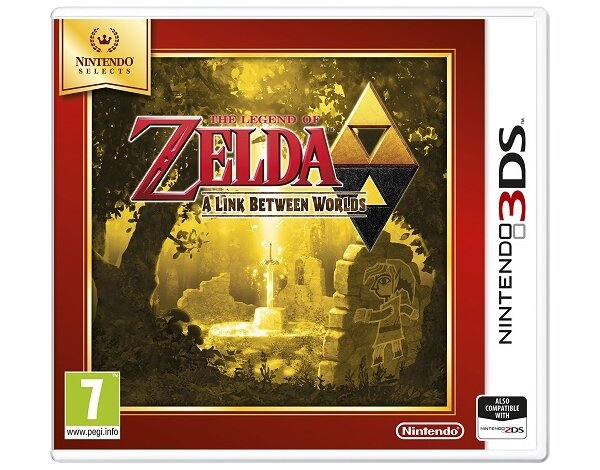 Gra 3DS The Legend of Zelda: A Link Between Worlds Selects