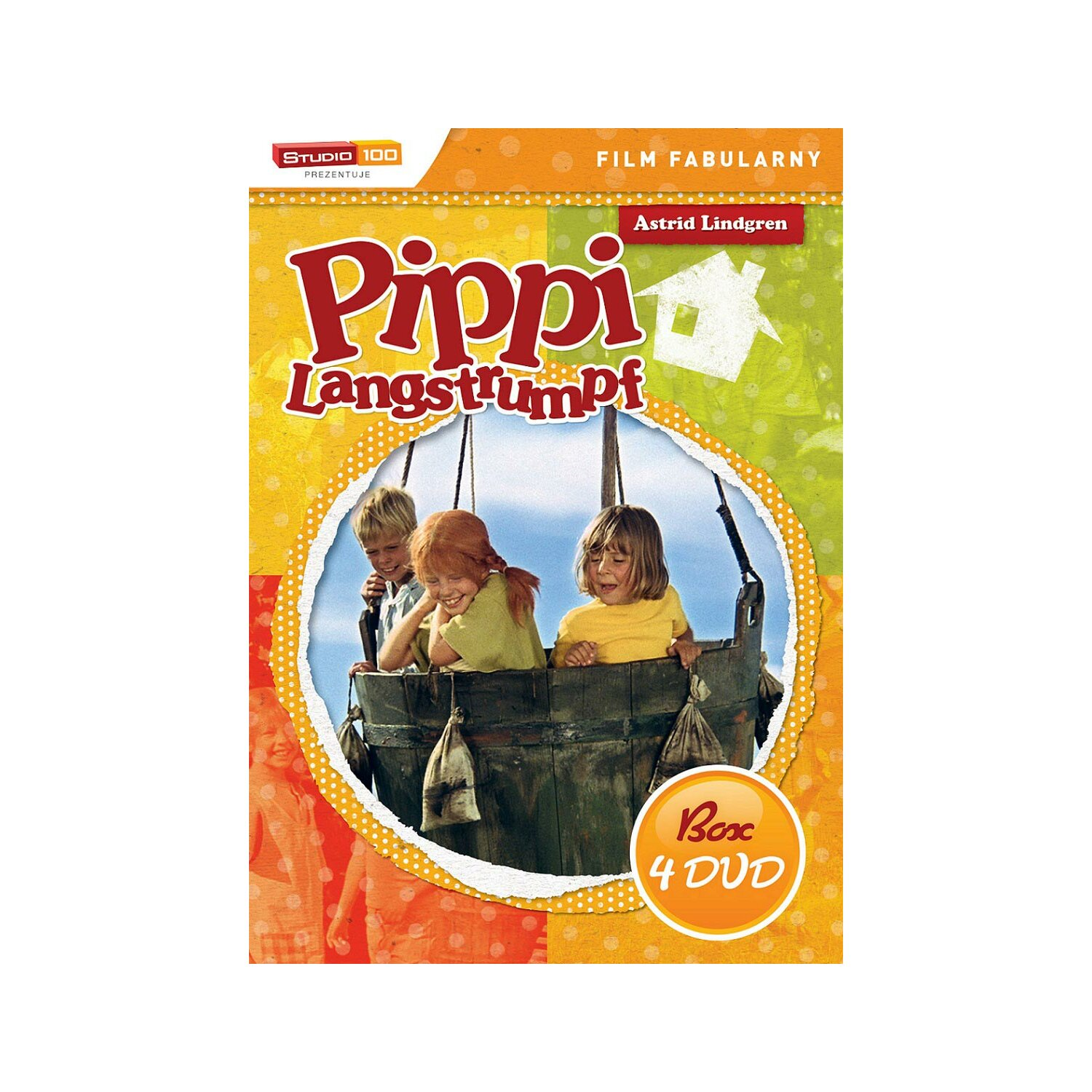 Pippi Langstrumpf. Box (4DVD)