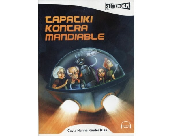 Tapatiki kontra Mandiable. Książka audio CD MP3