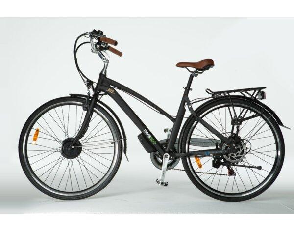 Rower Elektryczny Trybeco Luna 28 Czarny Mat