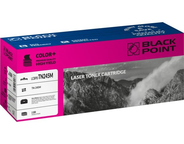 Toner BLACK POINT LCBPBTN245M Zamiennik Brother TN-245M