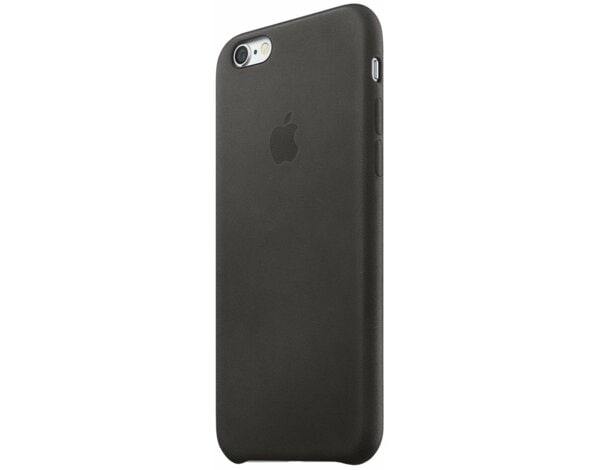 Skórzane etui APPLE do iPhone 6 Plus/6s Plus Czarny MKXF2ZM/A