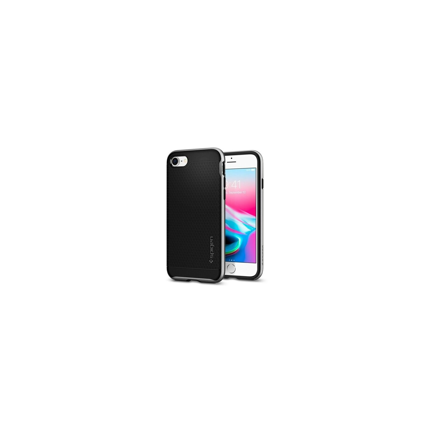 Etui SPIGEN Neo Hybrid 2 do iPhone 7/8 Srebrny