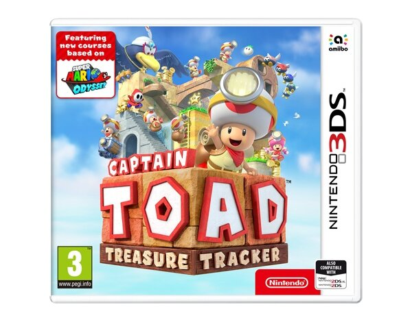 Gra 3DS Captain Toad: Treasure Tracker