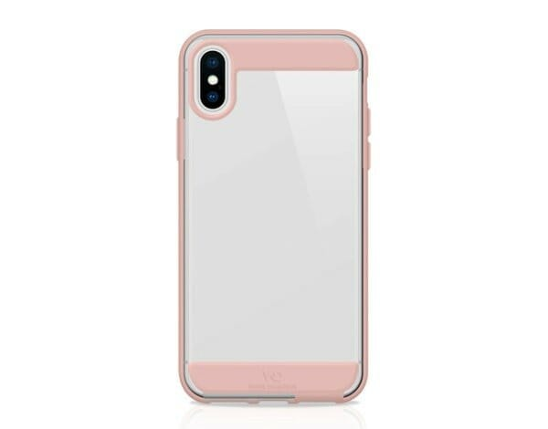 Etui na smartfon WHITE DIAMONDS Innocence Clear do Apple iPhone X/iPhone XS Różowe złoto