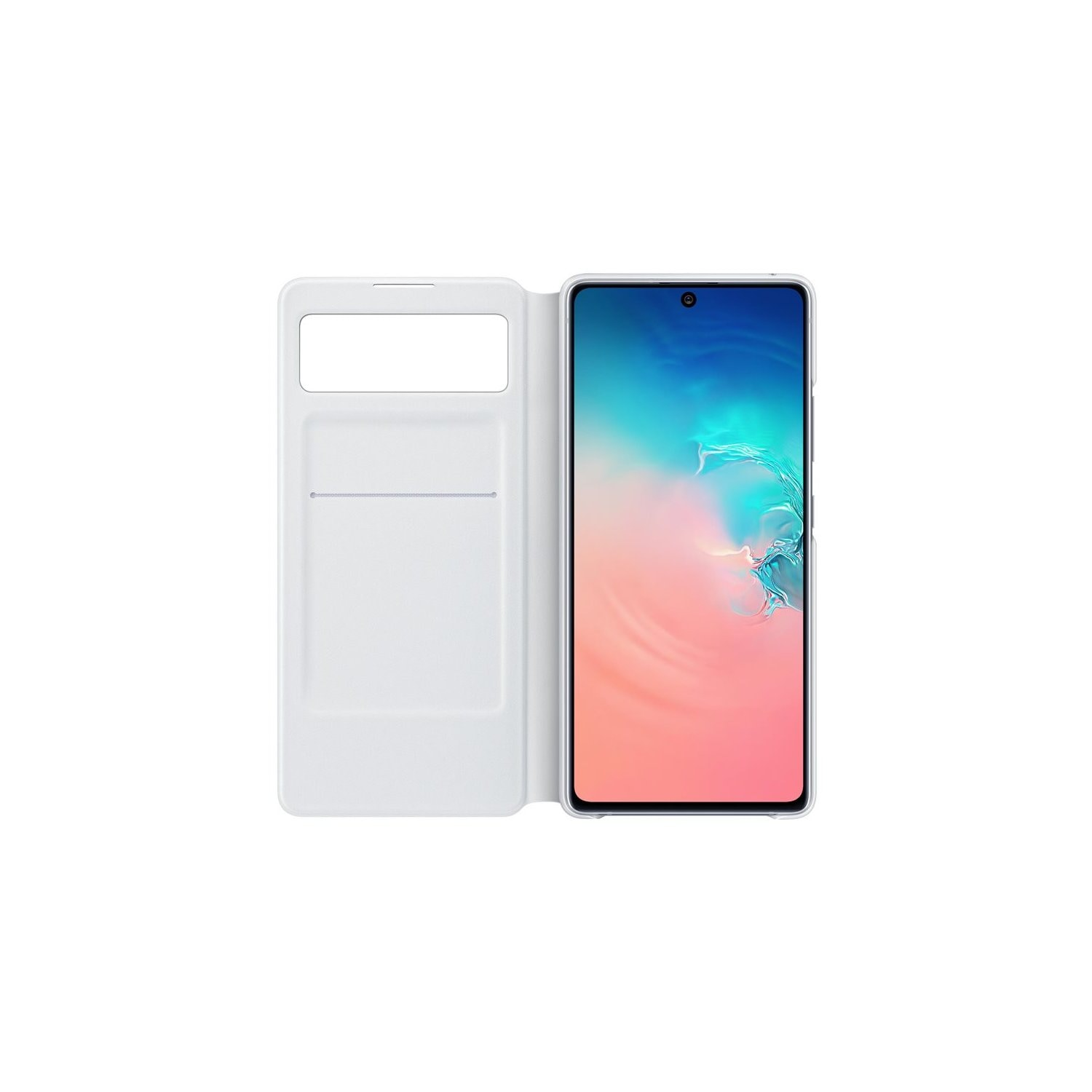 Etui SAMSUNG S-View Wallet Cover do Galaxy S10 Lite Biały EF-EG770PWEGEU