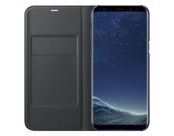 Etui SAMSUNG LED View Cover do Galaxy S8 Czarny EF-NG950PBEGWW