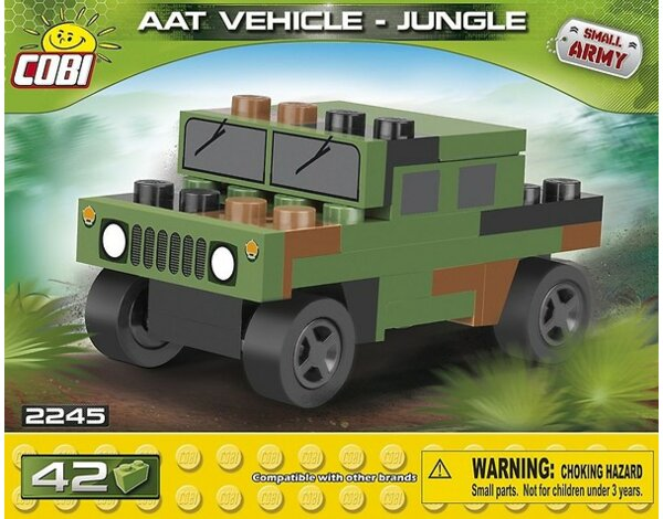 Klocki COBI 2245 NATO AAT Vehicle Jungle Nano