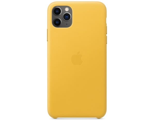 Etui APPLE Leather Case do iPhone 11 Pro Max Soczysta cytryna MX0A2ZM/A
