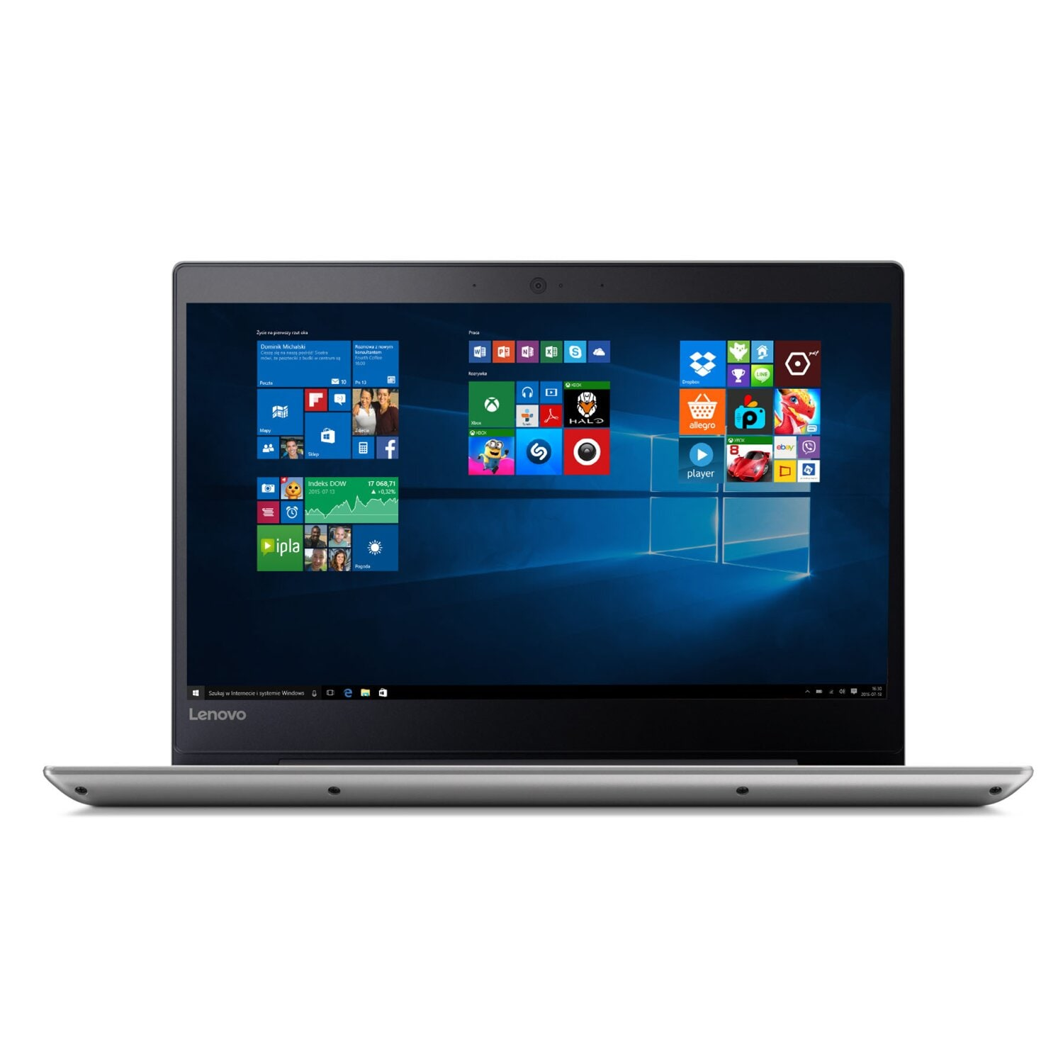 Laptop LENOVO IdeaPad 320S-14IKB 80X400F9PB/0L2PB i3-7100U/4GB/1TB/INT/Win10H Mineral Grey