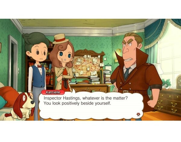 Gra Nintendo Switch Layton's Mystery Journey: Katrielle and the Millionaires' Conspiracy Deluxe Edition