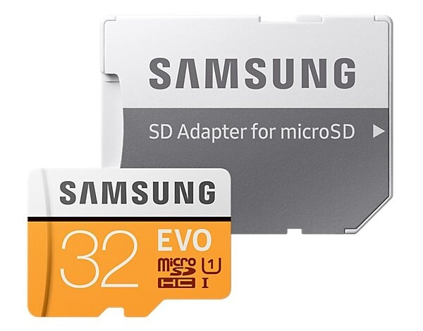 Karta pamięci SAMSUNG Evo 32GB microSDHC MB-MP32GA/EU + adapter SD