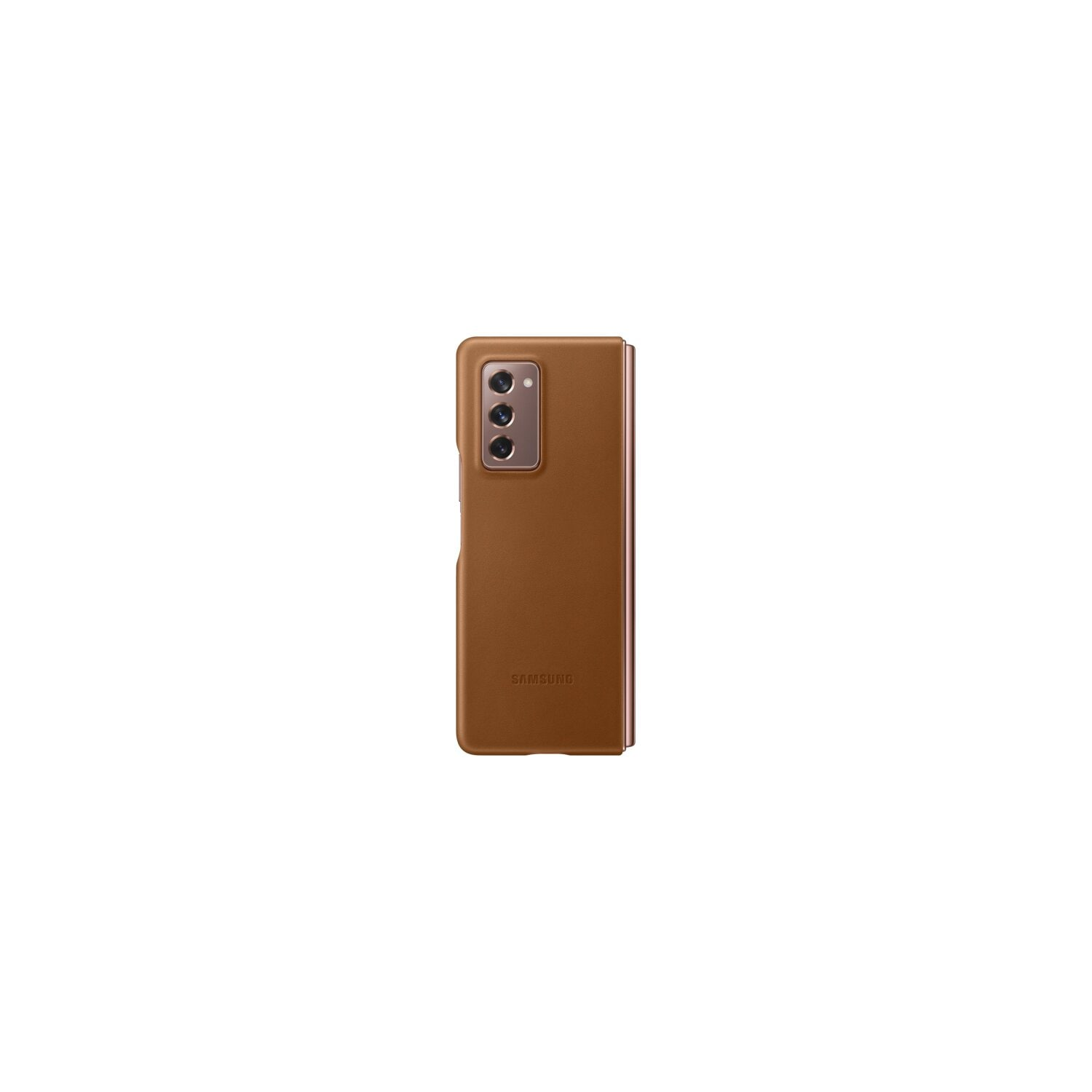 Etui SAMSUNG Leather Cover do Galaxy Z Fold2 5G Brązowy EF-VF916LAEGEU