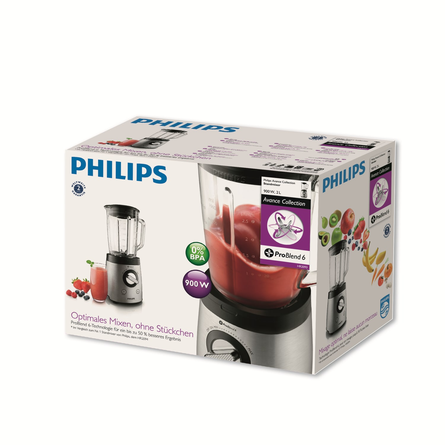 Koktajler PHILIPS Avance Collection HR2093/00