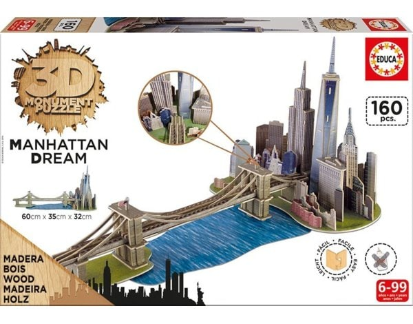 Puzzle EDUCA 3D Manhattan Dream