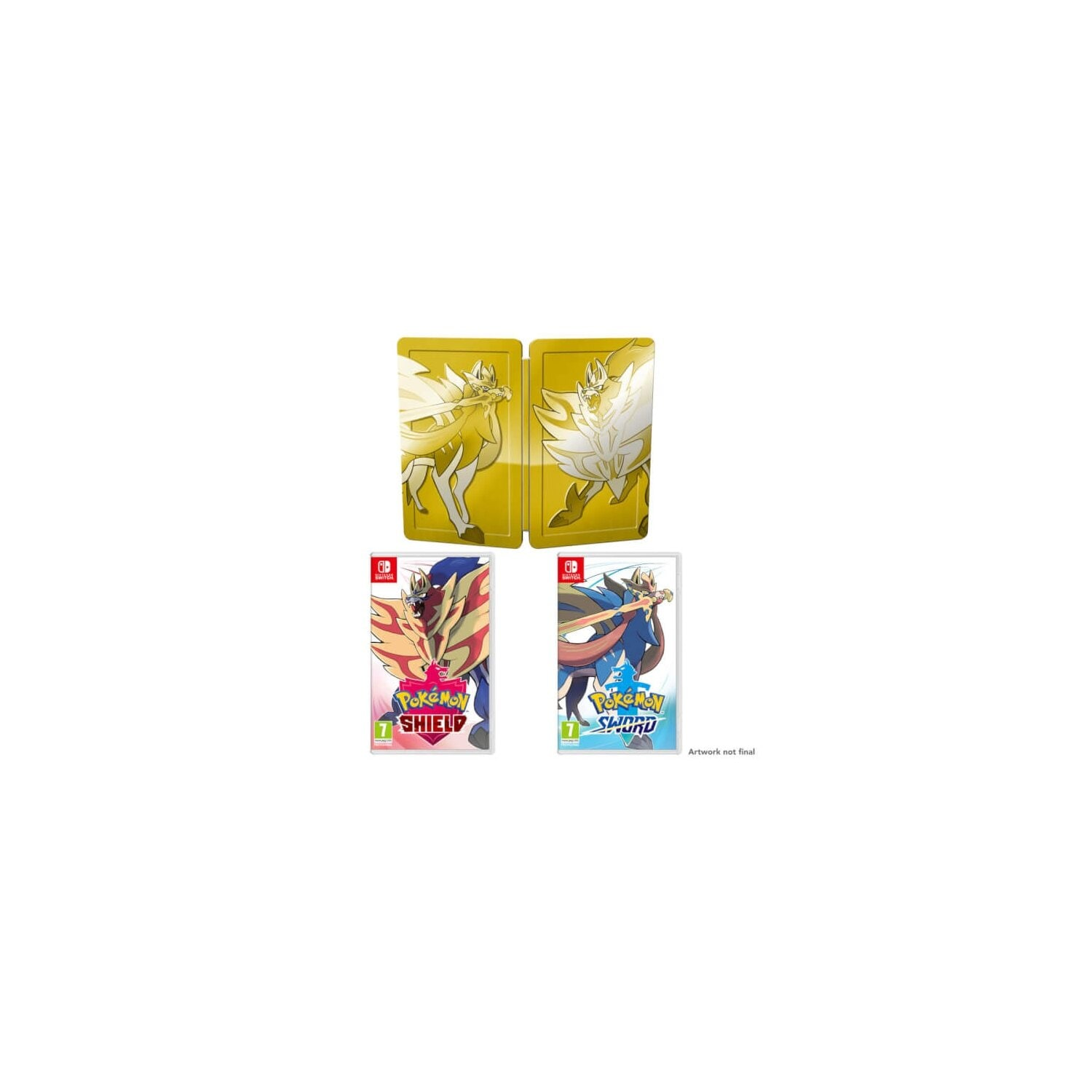 Gra Nintendo Switch Pokémon Sword & Shield Dual Pack