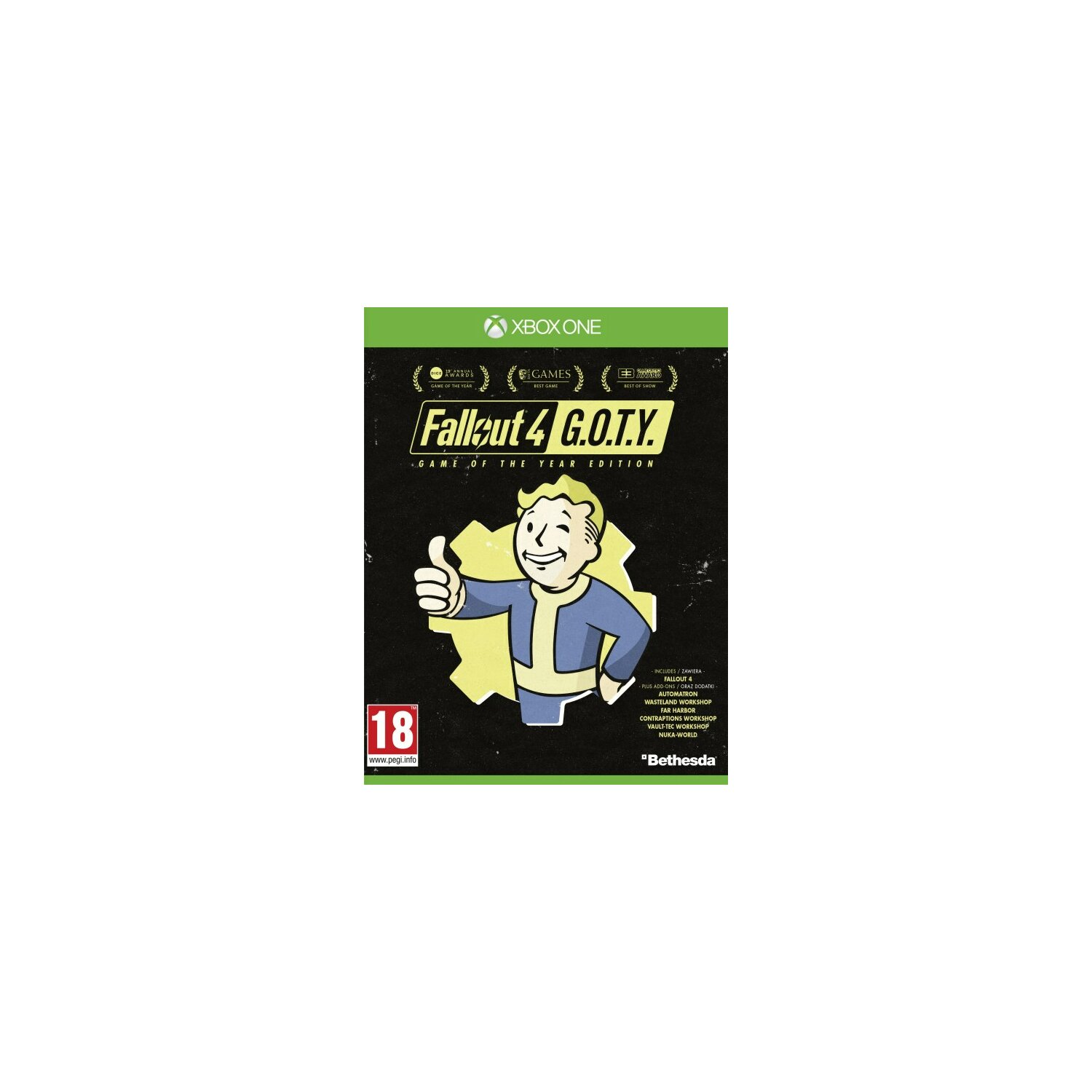 Gra Xbox One Fallout 4: Game of the Year Edition