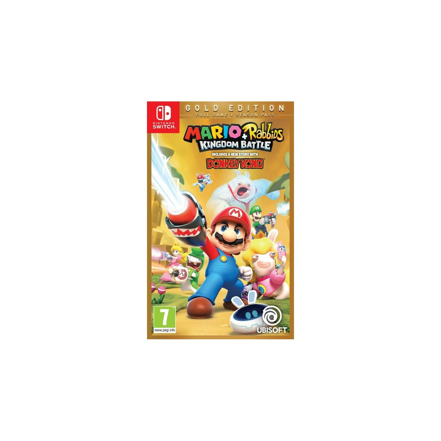 Gra Nintendo Switch Mario + Rabbids: Kingdom Battle Gold Edition