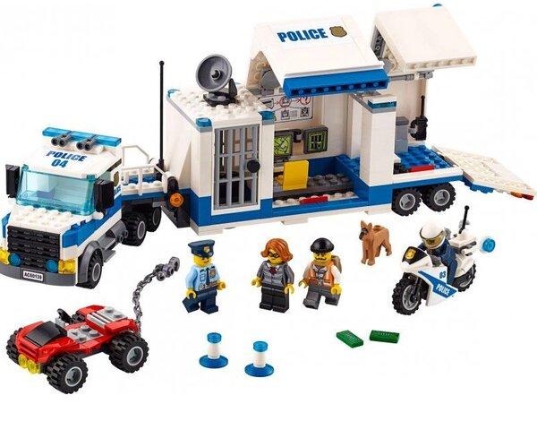 Klocki Lego 60139 City Police Mobilne Centrum Dowodzenia Klocki