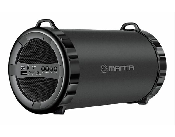 Głośnik Bluetooth MANTA SPK204FM Pipe