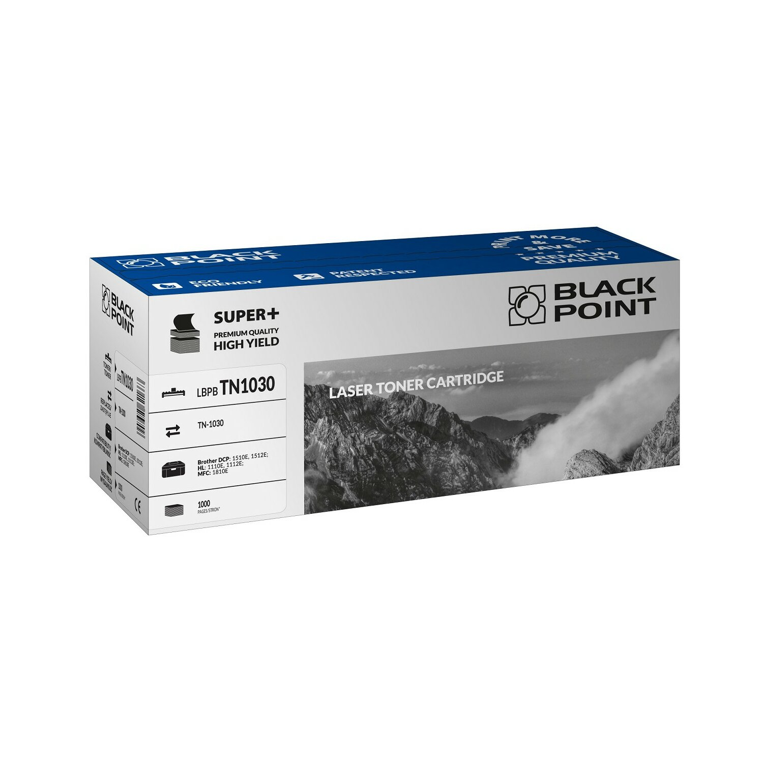Toner BLACK POINT LBPBTN1030 Zamiennik Brother TN-1030