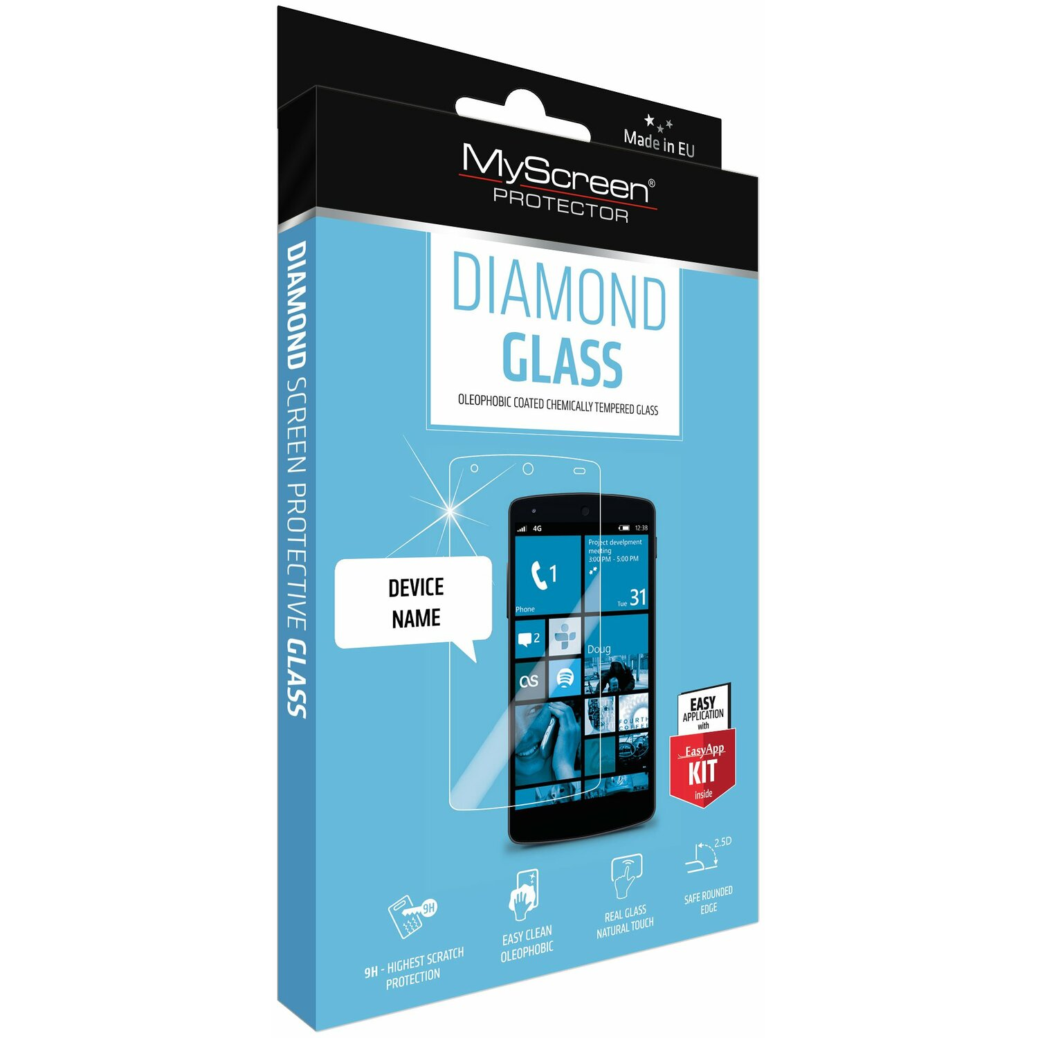 Szkło MYSCREEN PROTECTOR Diamond Glass Apple iPhone 7