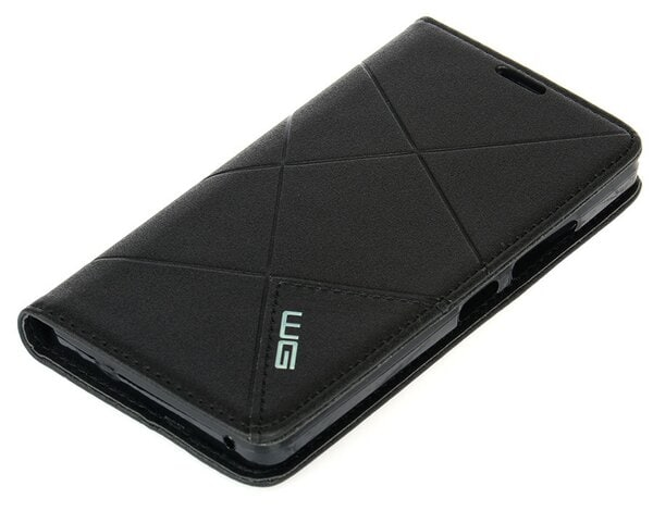 Etui WG Cross Flipbook do Huawei P10 Lite Czarny