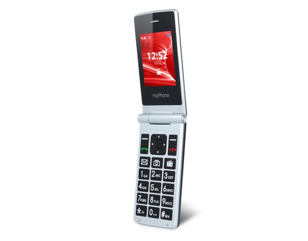 Telefon Komorkowy Myphone Tango Czarno Srebrny Opinie Cena Mediamarkt Pl