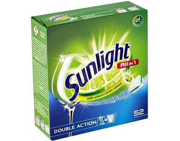 Tabletki do zmywarki SUNLIGHT All In 1 52 szt.
