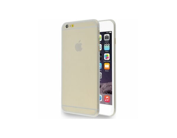 Etui AZURI ultra cienkie TPU do iPhone 6 Plus tył, transparentne