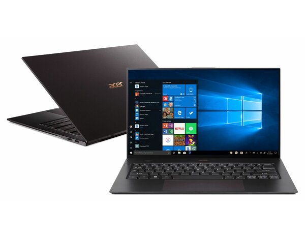 Laptop ACER Swift 7 SF714-52T-747H NX.H98EP.009 i7-8500Y/8GB/512GB SSD/INT/Win10Pro Czarny